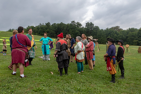 Pennsic 2018 - Thrown Weapons Champions