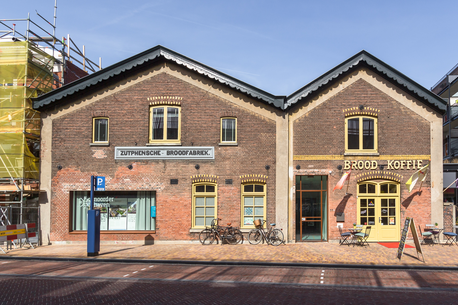 Renovatie van De Broodfabriek