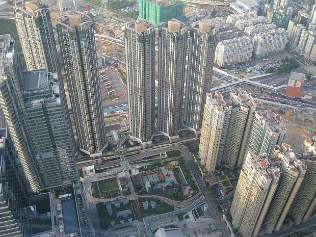 hong kong sky100 view
