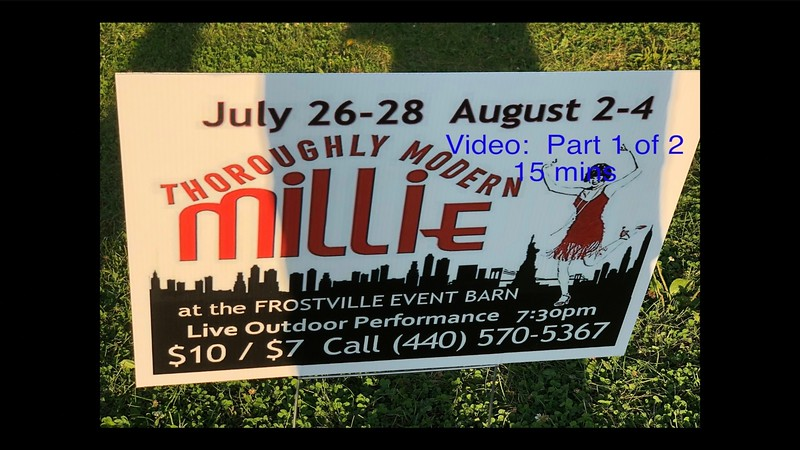 Thoroughly Modern Millie-Frostville Museum, Sat., Aug 4, 2018 with Randy & Maria