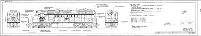 4-axle Road units - GPs, etc.