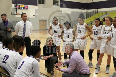 November 27, Girls Basketball v Crowley
