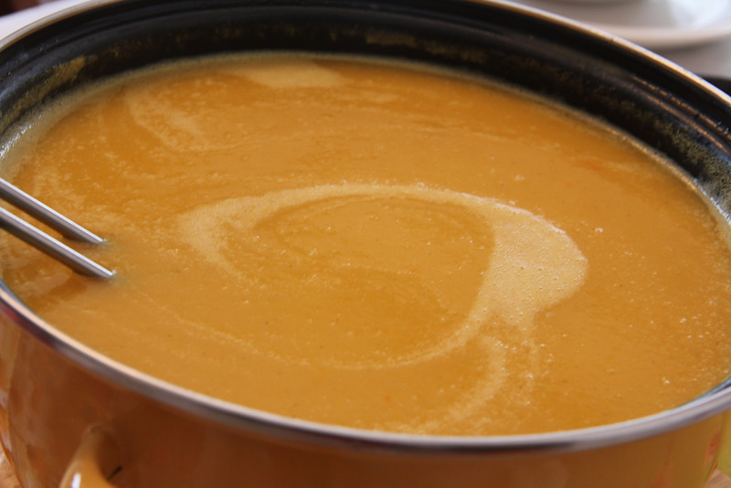 Israel Cooking Class January 19, 2012: Sweet Potato Soup