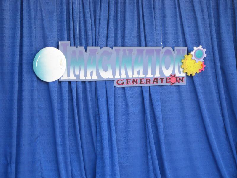 Imagination Generation sign.