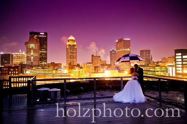 Melissa and Everett Color Wedding Photos