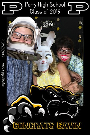Ellis Grad Party - Selfie Booth