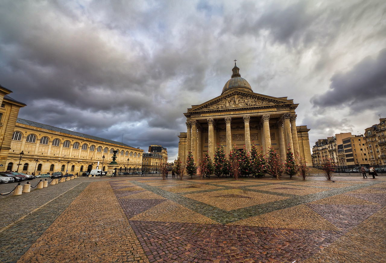 Pantheon before Christmas