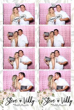 Steve & Vikky's Wedding (LED Dazzle Booth)