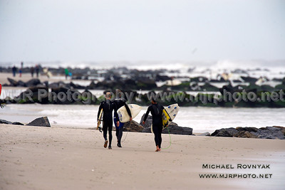 Surfing, L.B. West, NY, 10.28.12 David M