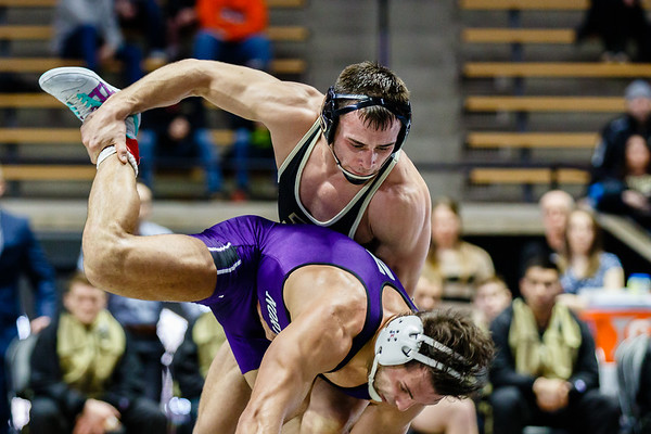Purdue Wrestling vs Northwestern 2018-2-9