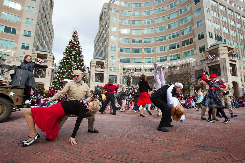 Reston Town Center Holiday Parade 2014