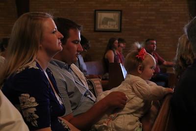 Riley Mackenzie Abbott's Baptism