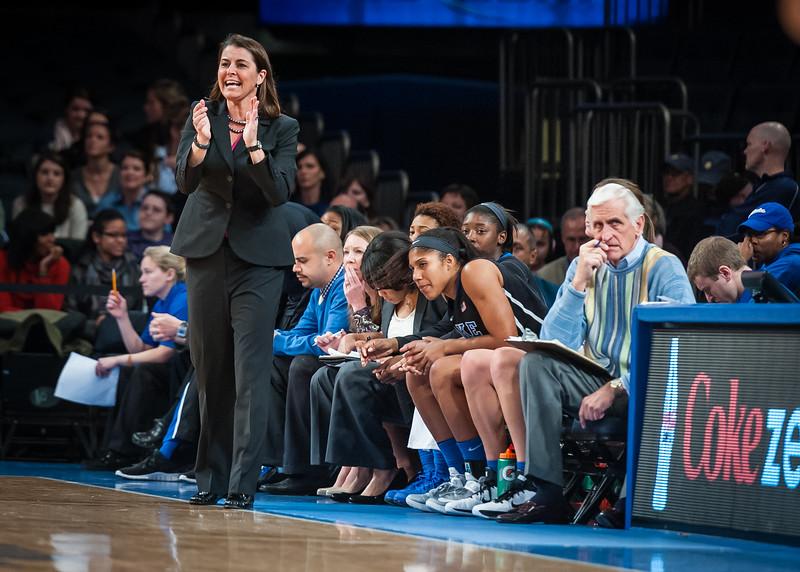 Duke head coach Joanne P. McCallie