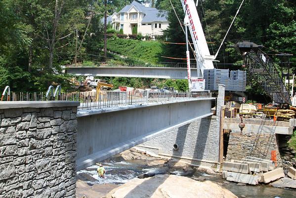 Sope Creek Bridge Beams