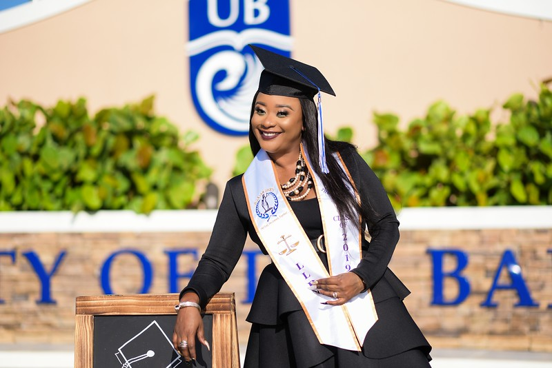 Monique Turnquest UB Graduation 2019