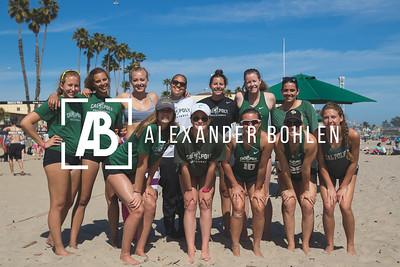 2016 Cal Poly Beach Volleyball Santa Cruz Tournament