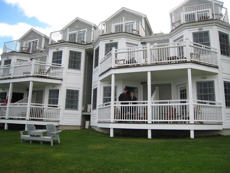 Bar Harbor, Maine - The Bar Harbor Inn - Mike & Linda