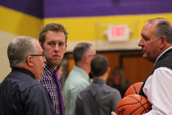 Basketball Boys vs. Hackett - 1/17/14- KCHS
