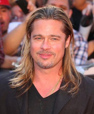 2013-06-17 - Brad Pitt WWZ premiere