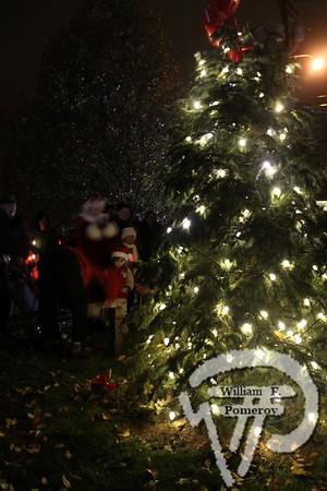Tree lighting — 2009