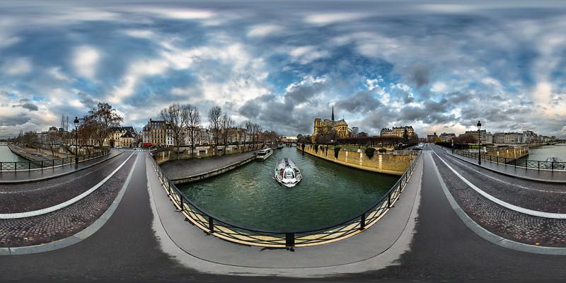 Notre Dame Cathedral - Pont de l'Archeveche