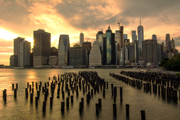 New York City @ night