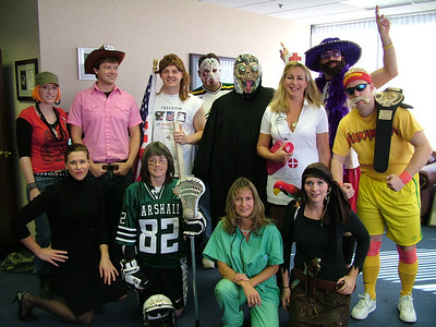 October, Eakin Office Halloween Party