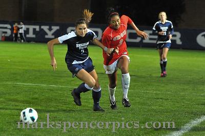 BYU Soccer vs San Diego 10-23-2010