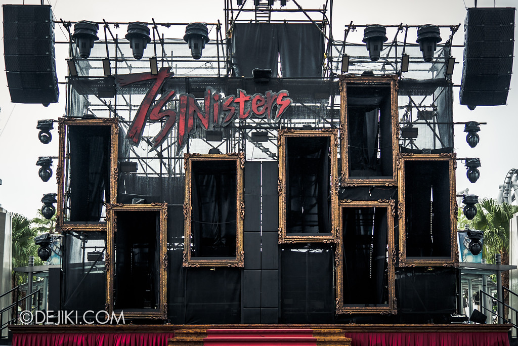 Halloween Horror Nights 7 Preview Construction Update Before Dark 3 - 7SINisters Stage