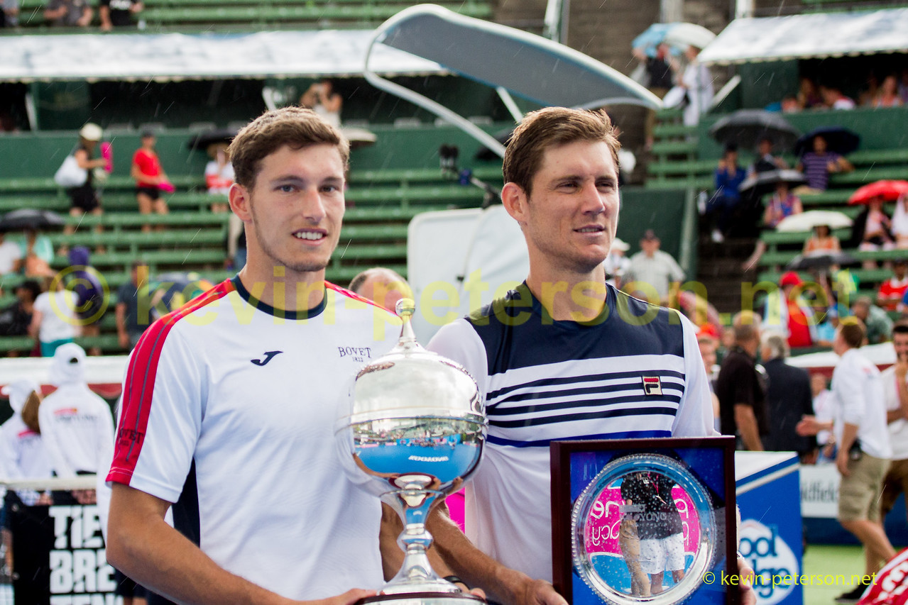 Pablo Carreno Busta -Spain Winner of the Kooyong Classic 2018 over Australia's Matthew Ebden