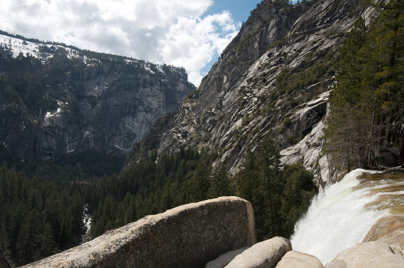 Vernal Falls Spills into the Valley