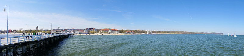 Sopot Pier and Beach