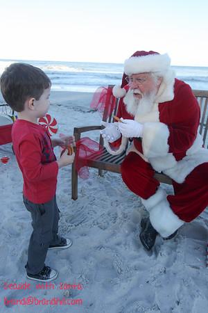 Beckett meets Santa