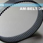 SKU: AM-BELT/3M/252, 252-3M Trapezoidal-Tooth Timing Belt, Closed-loop 3M Pitch Elastomeric Timing Belt 252mm