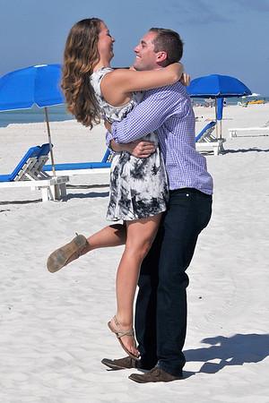 Jess and Jamie - 10 11 15 Carillon Beach