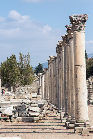 Kusadasi, Turkey:  The Ancient City of Ephesus.