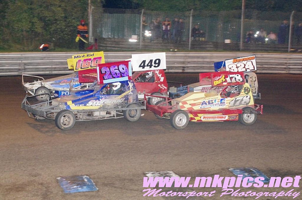 V8 Hot Stox, 19 October 2013, Birmingham Wheels Raceway