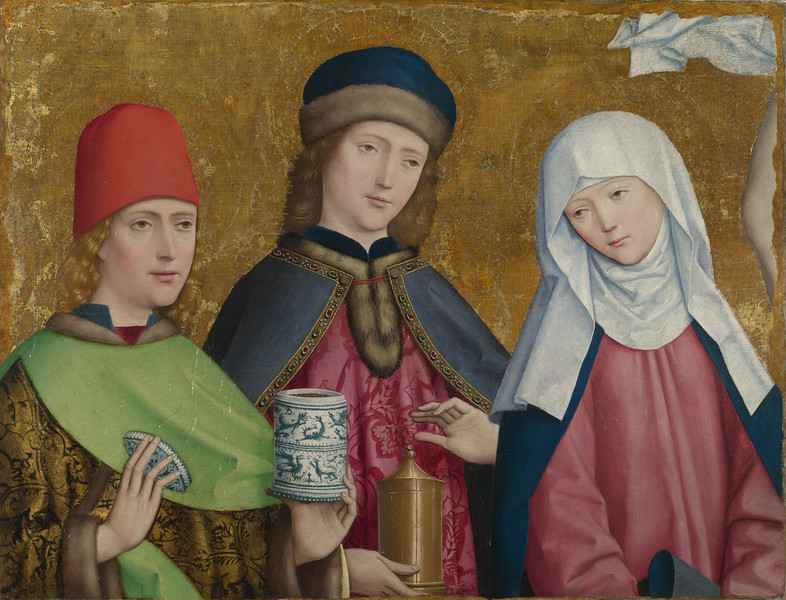 Saints Cosmas and Damian and the Virgin
