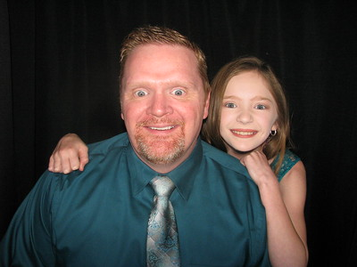 Powdersville Elem Father Daughter Dance Booth 2 2/23/18