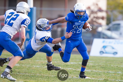 10-20-15 MSHSL Section 4A Semi-finals - Minneapolis North v Belgrade-B-E Football