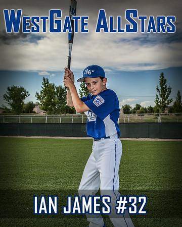 Ian James #32