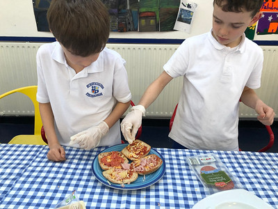 Pizza Making & Fractions