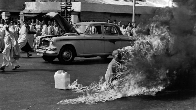Quang Duc self-immolation