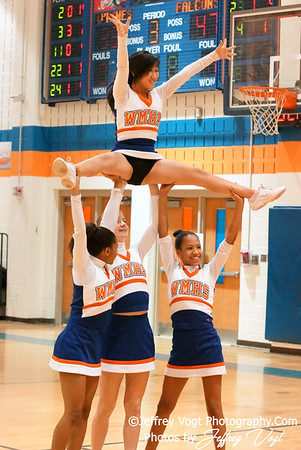 01-24-2012 Watkins Mill HS Varsity Cheerleading, Photos by Jeffrey Vogt Photography