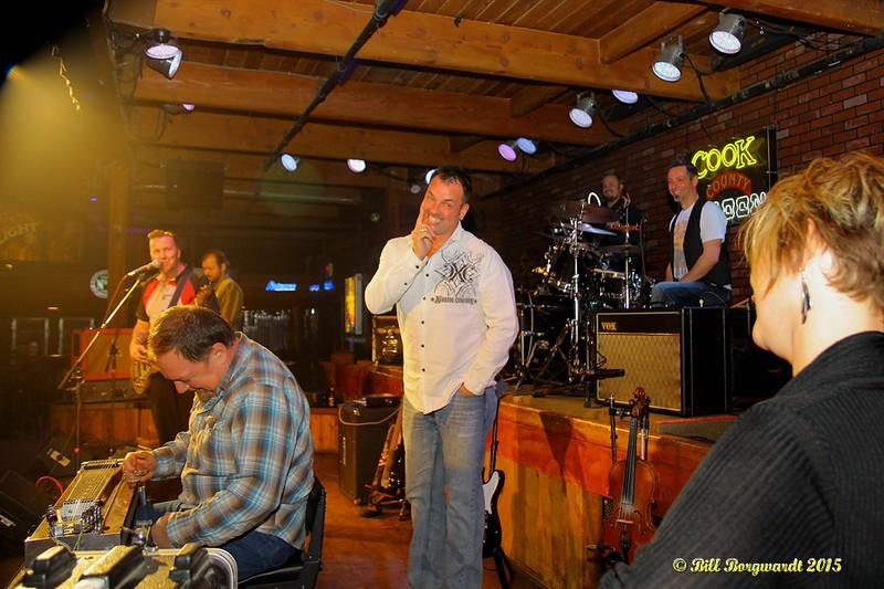 Bill Hanson Birthday Surprise at Cook County Saloon 027