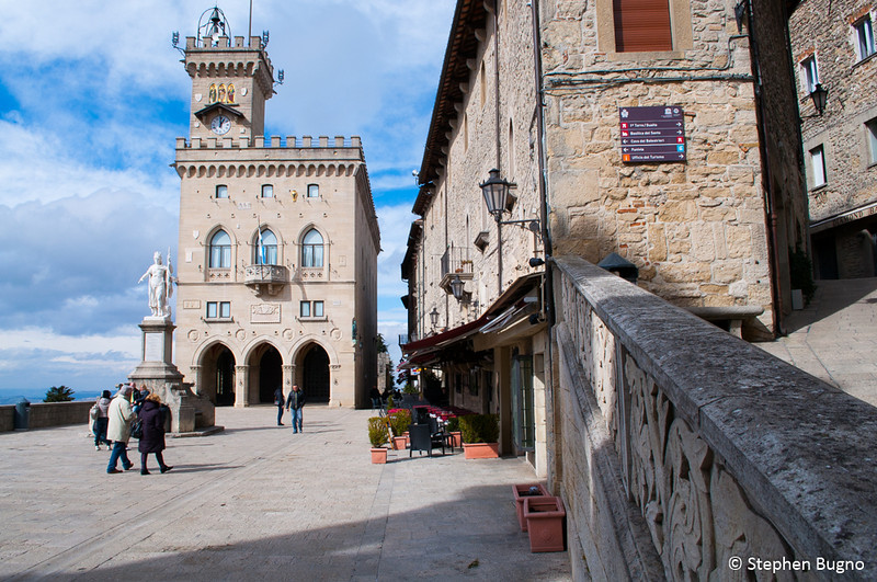 The Public Paace in San Marino