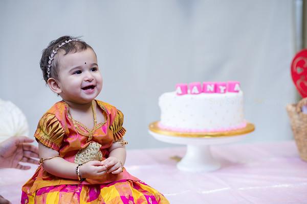 Aanya Srinivas 1st Birthday