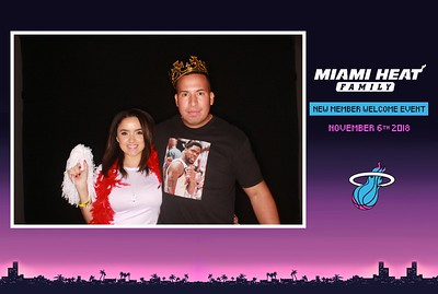 2018-11-06 MIAMI HEAT FAMIL NEW MEMBER WELCOME EVENT