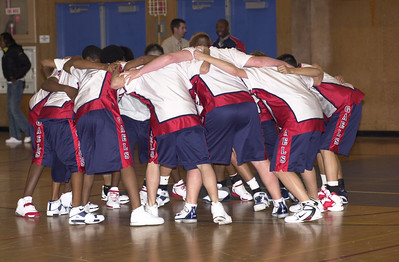 DHS Varsity Boys Basketball - 11-29-05