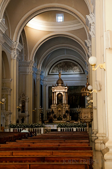 Inside Basilica de la Asuncion